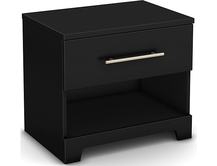 Primo Black Nightstand, , large