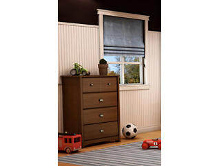 Willow Cherry 4-Drawer Chest, , large