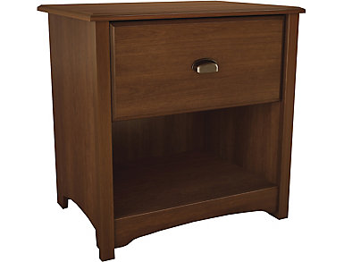 Willow Cherry Nightstand, , large