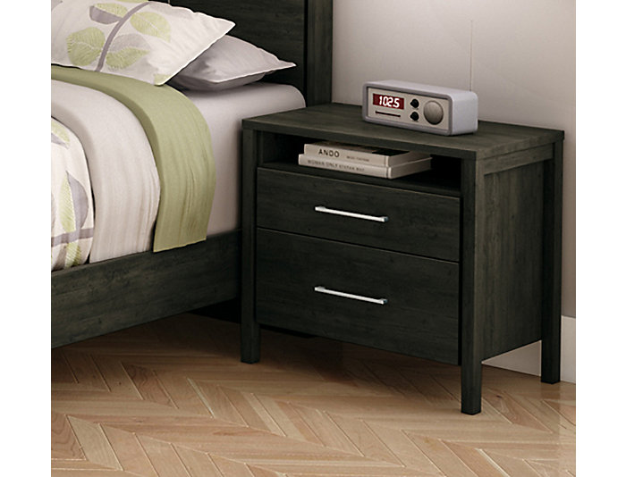 Gravity Ebony Nightstand, , large