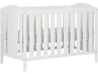 Angel White Crib, , large