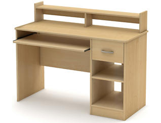 Axess III Maple Desk, , large