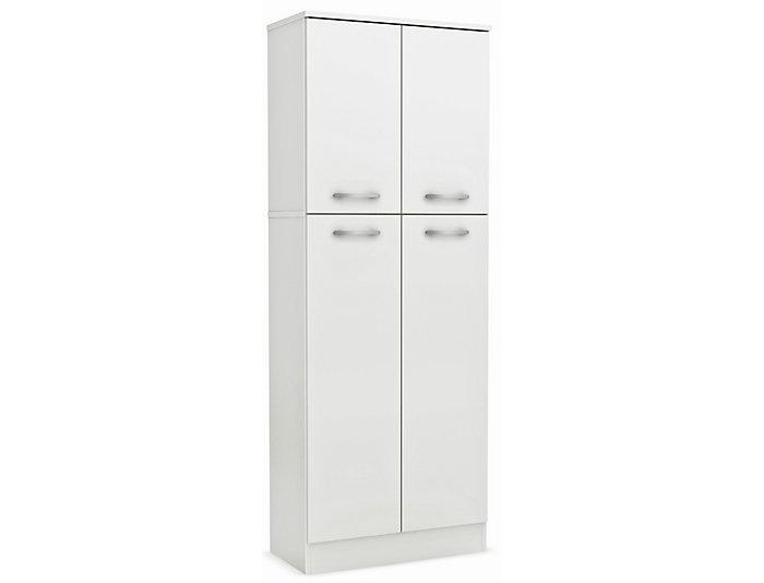 Genial Axess White Storage Pantry