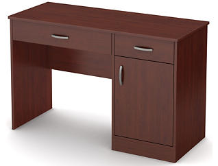 Axess II Cherry Desk, , large