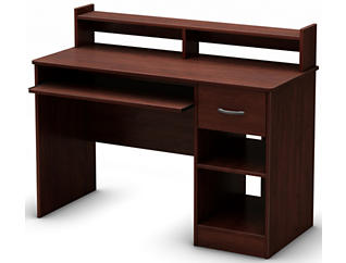 Axess III Cherry Desk, , large