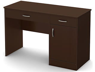 Axess II Brown Desk, , large
