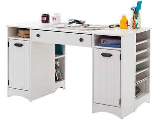 Artwork White Craft Table, , large