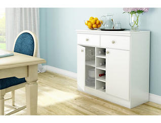 Morgan Pure White Sideboard, , large