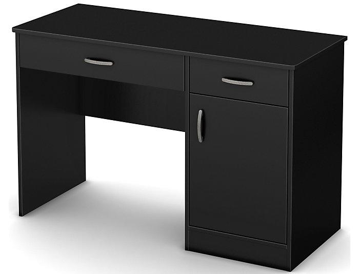 Axess II Black Desk, , large