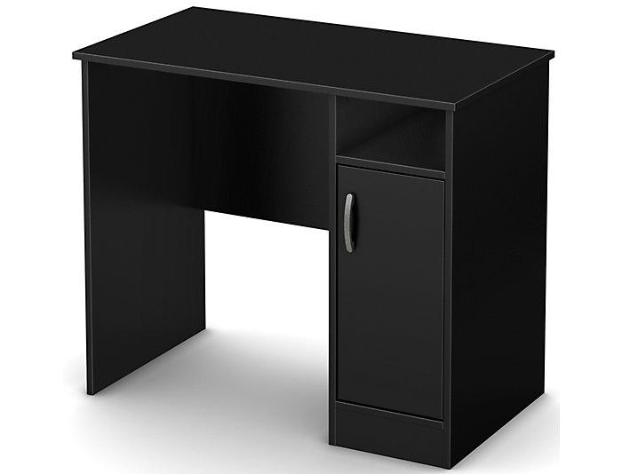 Axess I Black Desk, , large