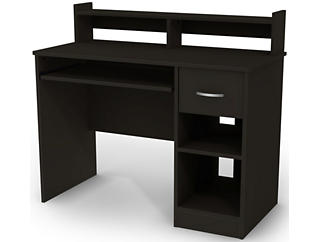 Axess III Black Desk, , large