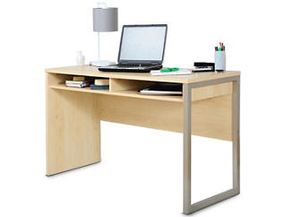 Interface III Maple Desk, , large