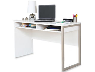 Interface III White Desk, , large