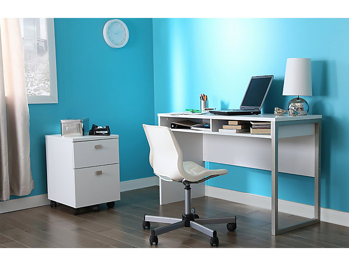Interface White File Cabinet, , large