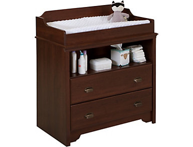 Fundy Cherry Changing Table, , large