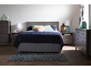 Gravity Queen Gray Headboard, , large