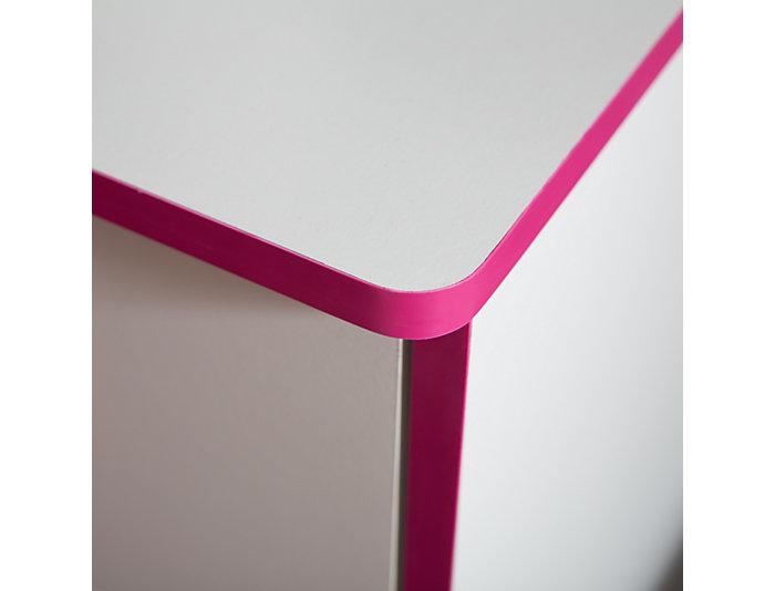 Logik White & Pink Chest, , large