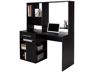 Annexe Black Computer Desk, , large