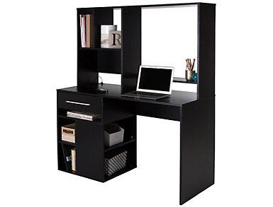 Annexe Black Computer Desk, , large