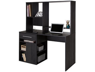 Annexe Grey Computer Desk, , large