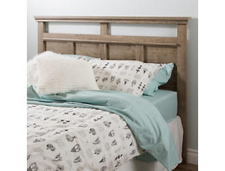 Versa Queen Oak Headboard, , large