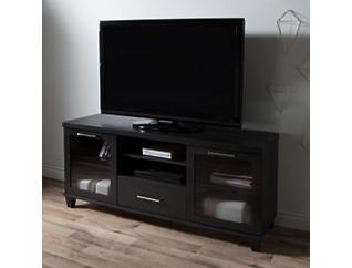 "Agar 60"" Black TV Stand, , large"