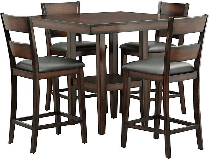 Art Van Dining Room Tables: Pendleton Gathering Table And 4 Stools