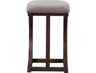 "26"" Cherry 26 Stool, Burgundy, large"