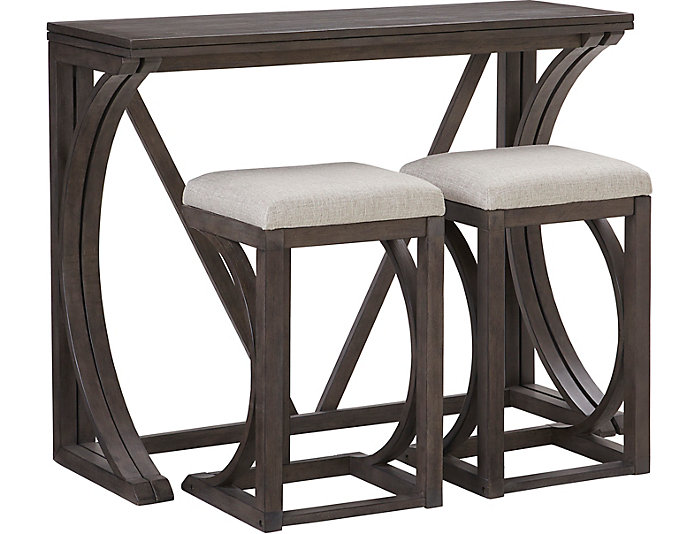 Folding Antique Grey U0026 Stools