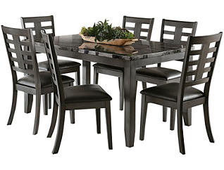 Canaan Table & 6 Chairs, , large
