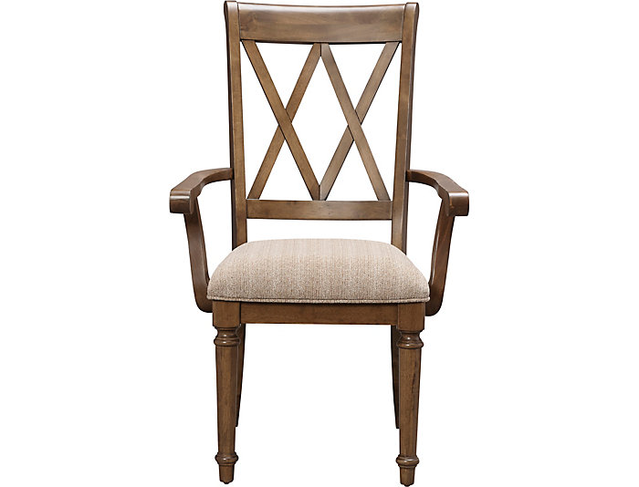 Rossmore X-Back Arm Chair, , large