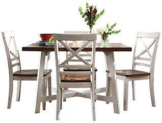 Amelia Table and 4 Chairs, , large