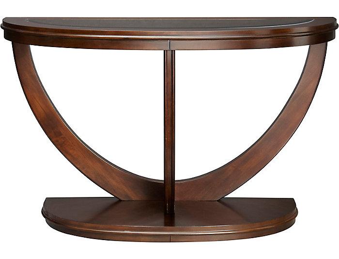 La Jolla Sofa Table, Brown, , large