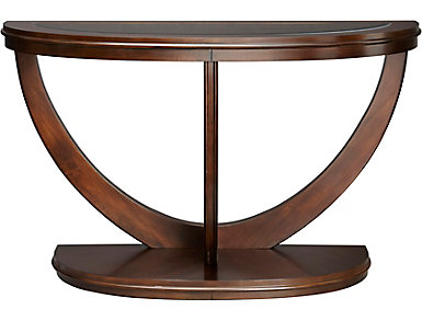 La Jolla Latte Brown Sofa Table, , large