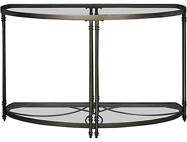 Terrazza Chrome Nickel Sofa Table, , large