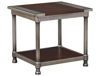 Hudson End Table, Brown, , large