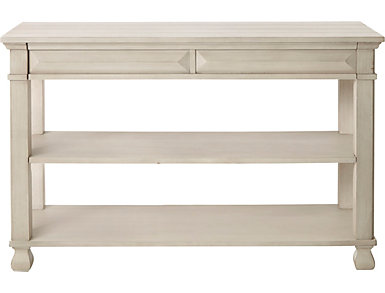 Passages White Sofa Table, , large