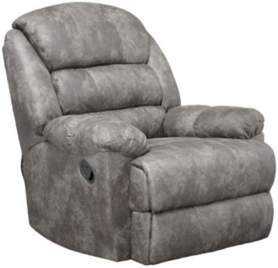 Garrett Rocker Recliner, Grey, swatch
