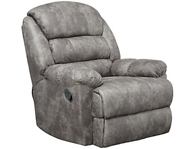 Garrett Rocker Recliner, Grey, , large