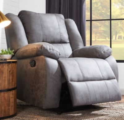 Mitchell Rocker Recliner, Grey, swatch