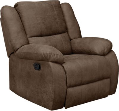 Mitchell Rocker Recliner, Brown, swatch