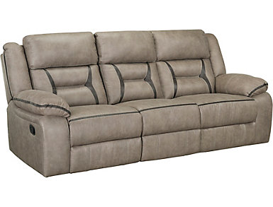 Hera Reclining Sofa with Drop-Down Table, , large