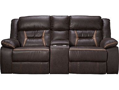 Hera Reclining Glider Loveseat, , large