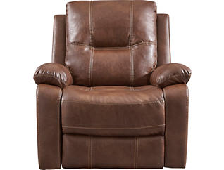 Emmert Saddle Manual Glider Recliner, , large