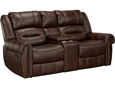 Cunningham Reclining Loveseat, , large