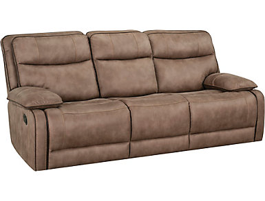 Cole Reclining Sofa w/DDT, , large