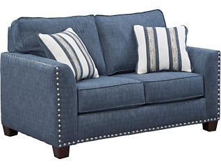Carmelle Indigo Loveseat, , large
