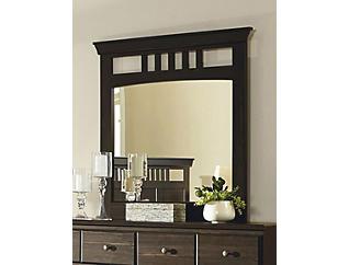 Hampton Mirror, Black, , large