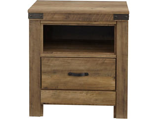 Stanley 2 Drawer Nightstand, , large