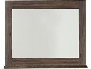 Haywood Mirror, Brown, , large